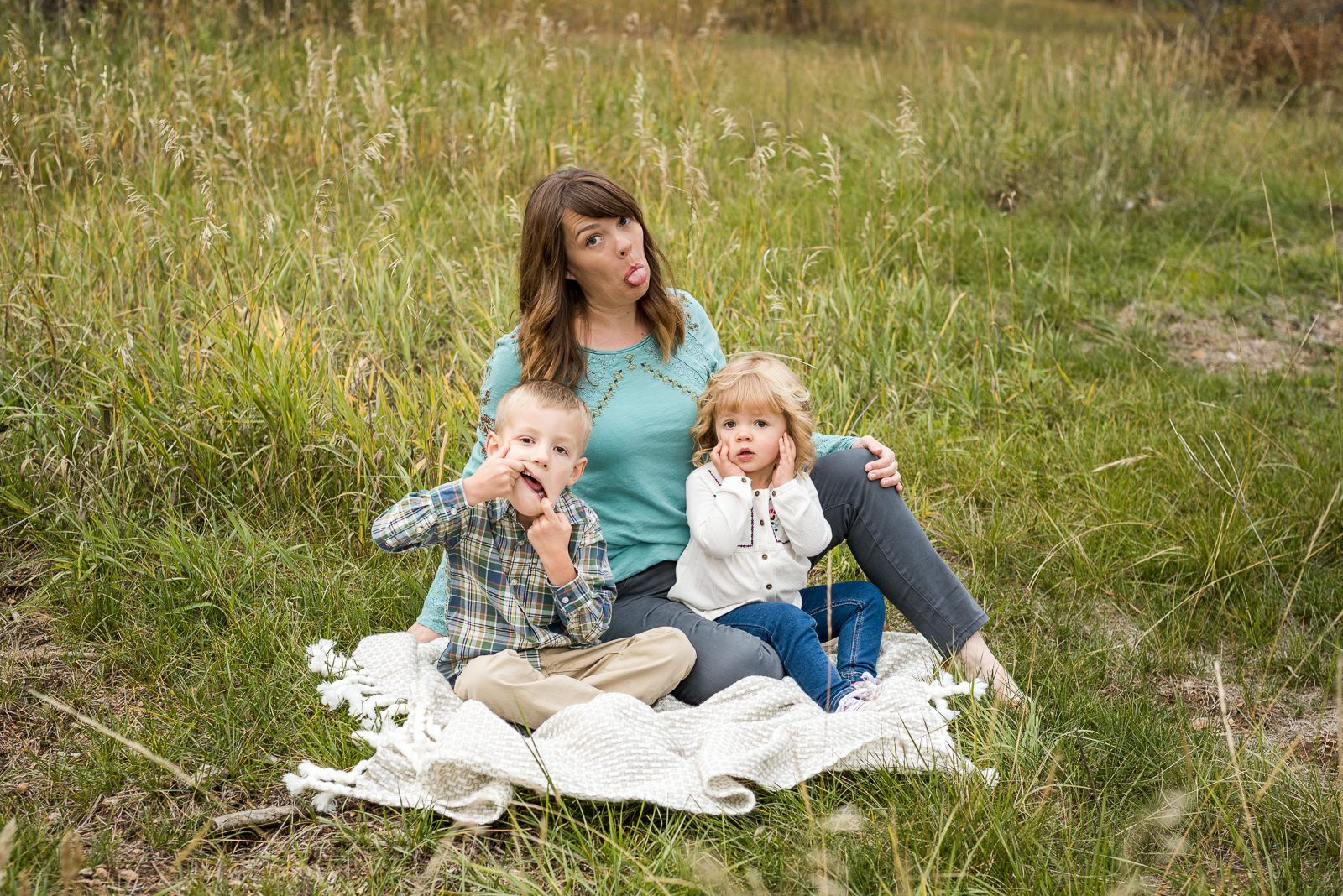 Goofy Games | Family Photo | Meyer Ranch Park | From the Hip Photo