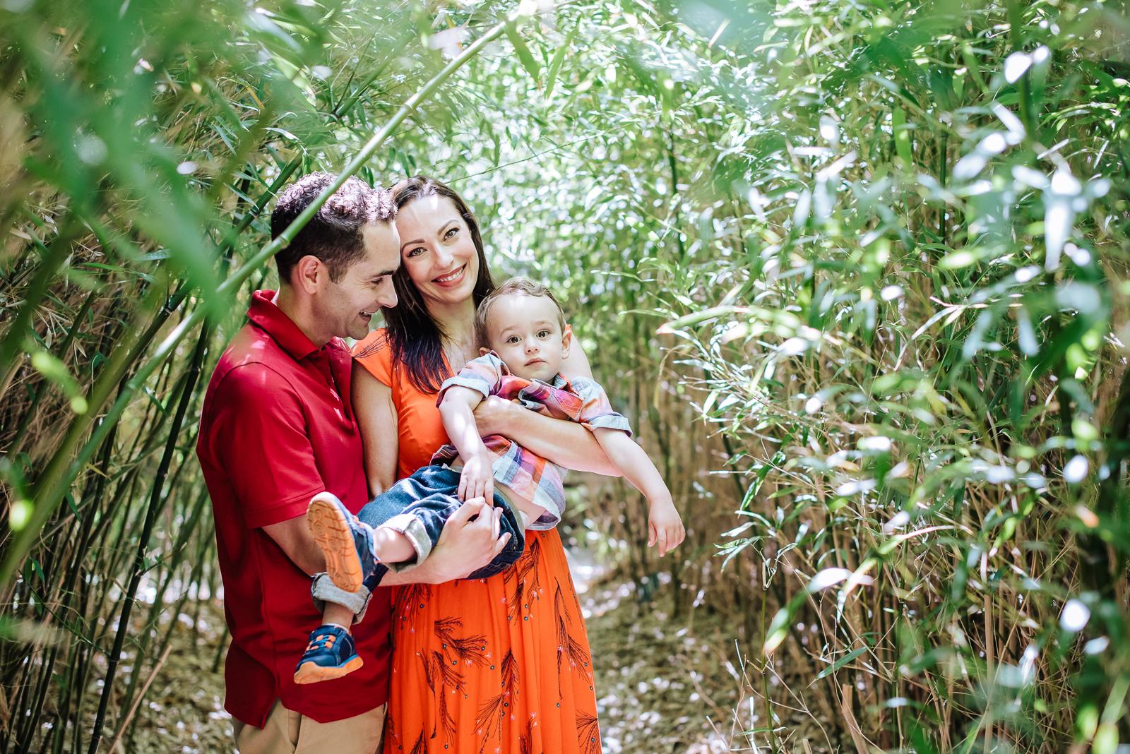 The Spraco Family | A Botanic Family Photo Session – FOCUS