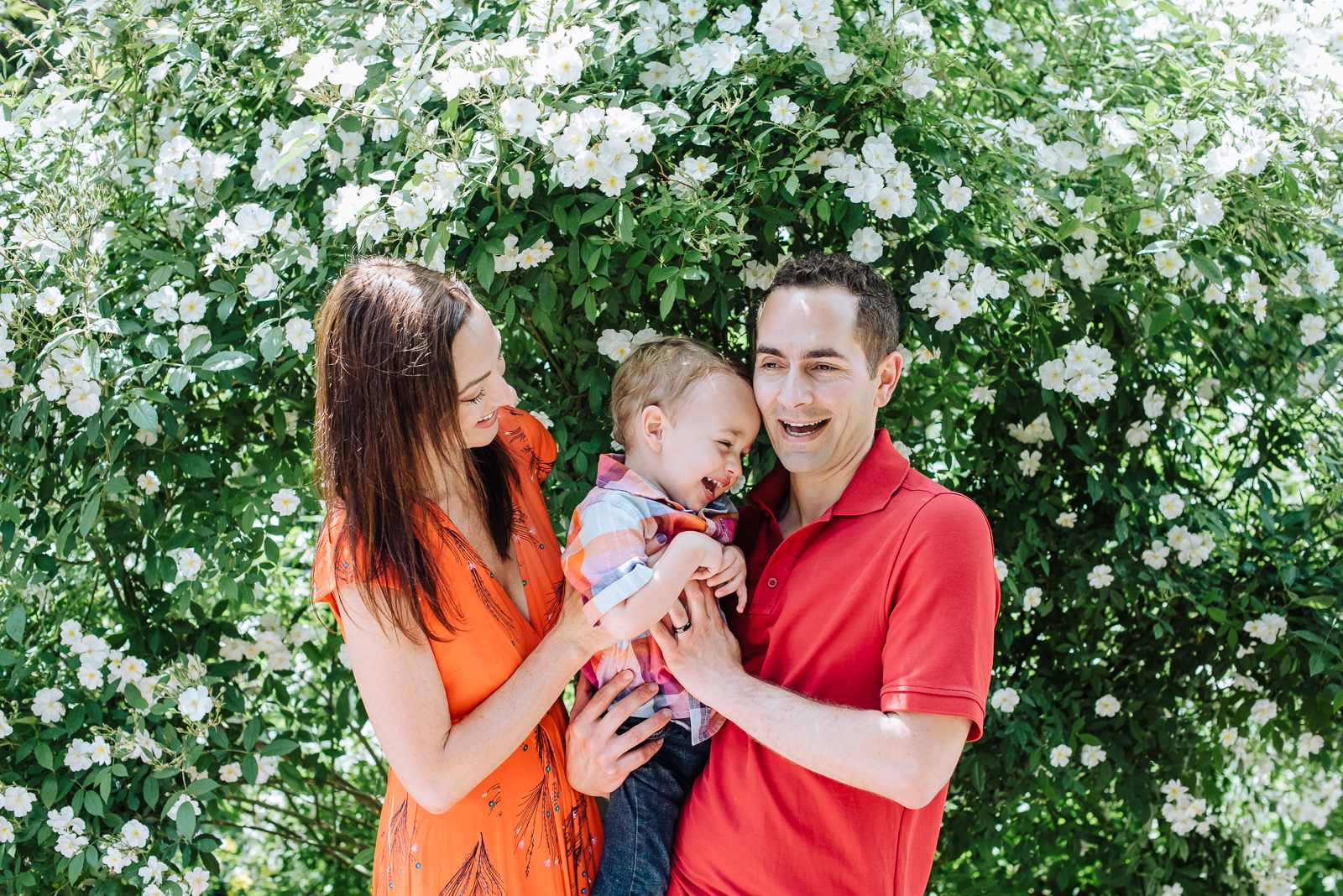 The Spraco Family | Family Photo | Botanic Gardens | From the Hip Photo