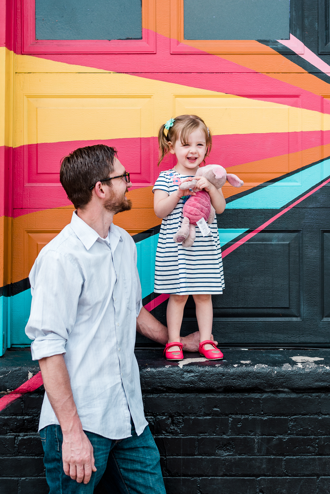 A Perfect May Day | Rebecca & Zane Family Photoshoot in RiNo