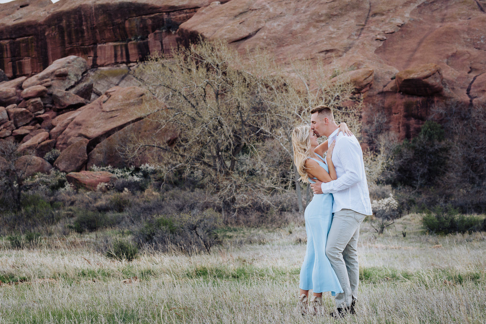 Hannah & Jeff   Engagement Photo   Red Rocks   From the Hip Photo