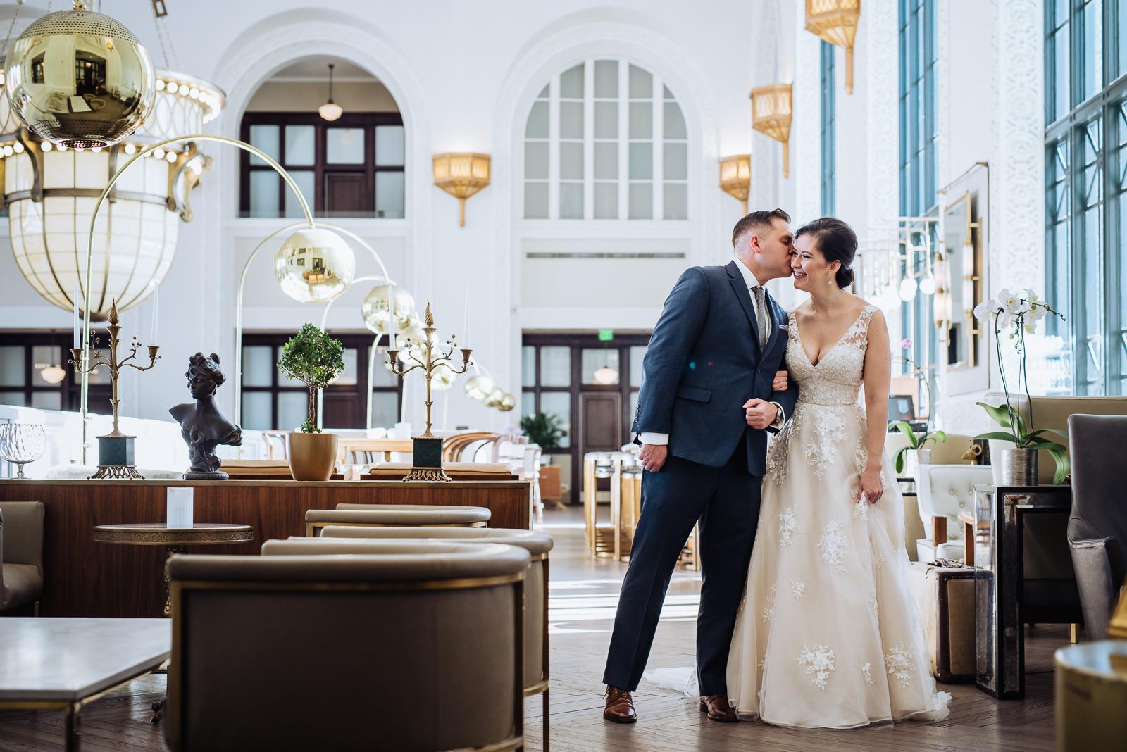 Deborah & Kevin | Wedding Photo | Oxford Hotel & Arrowhead | From the Hip Photo