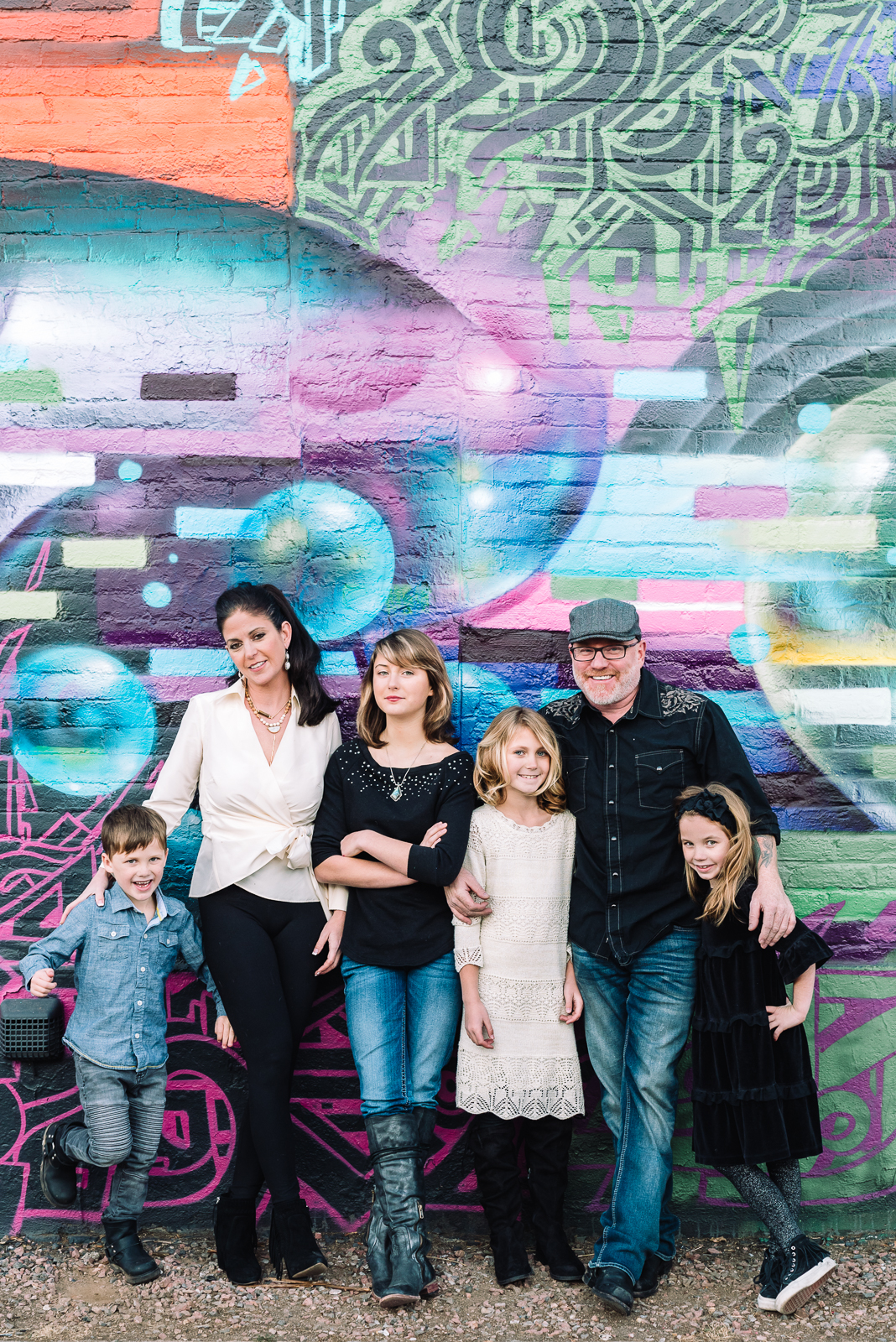 Life in Color | Family Photo | RiNo | From the Hip Photo