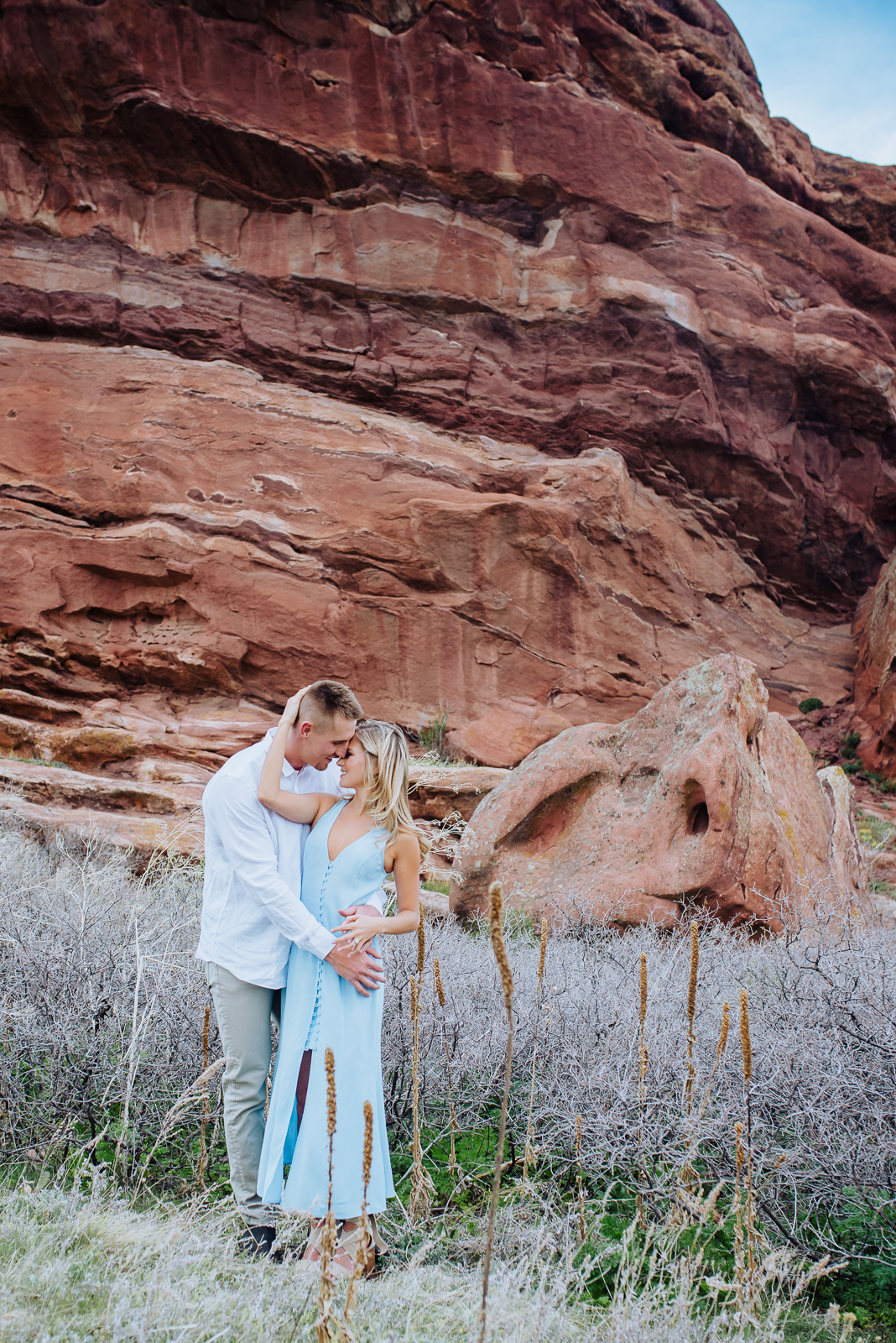 Hannah & Jeff | Engagement Photo | Red Rocks | From the Hip Photo