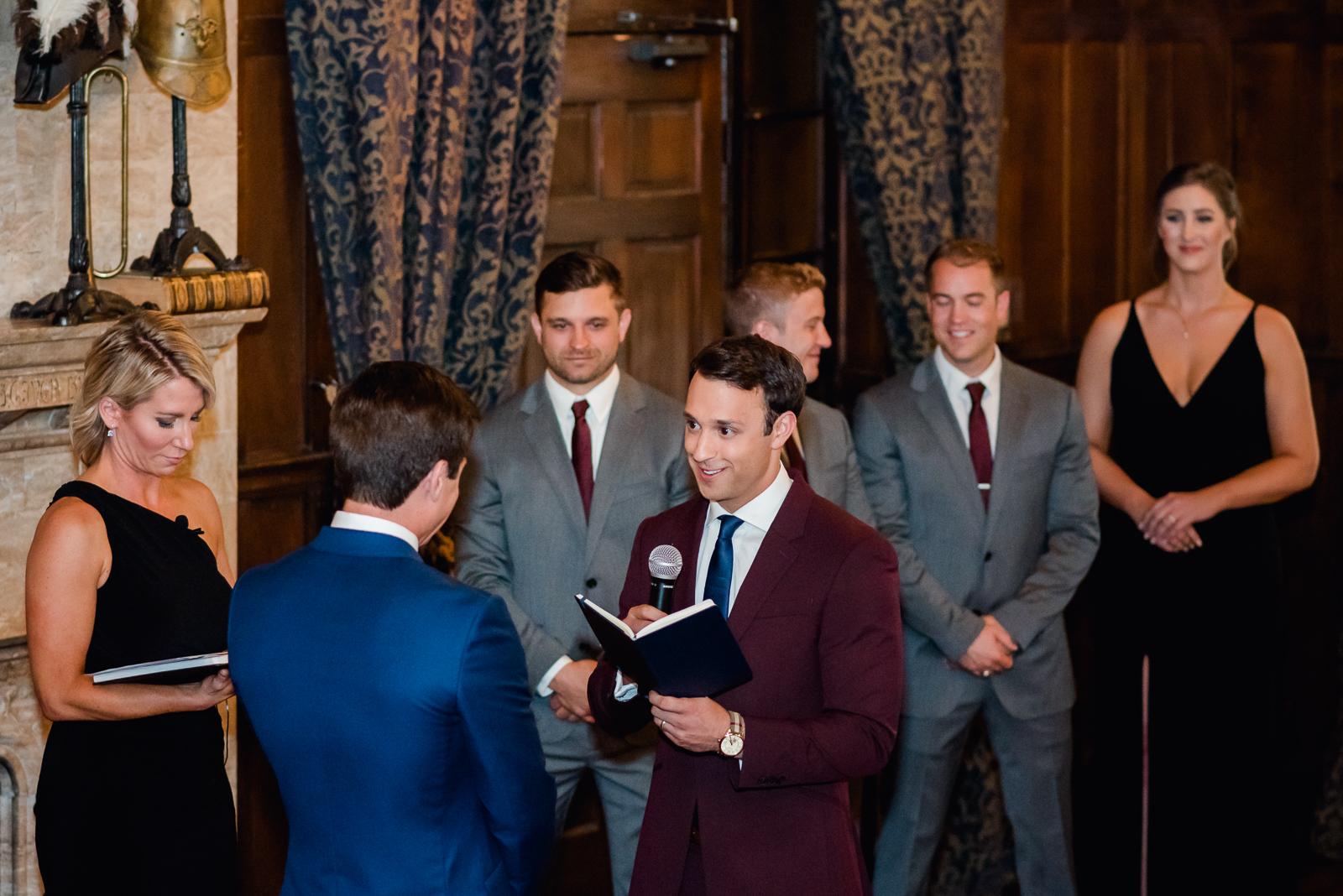 Kyle & Dan | Wedding Photo | University Club Denver | From the Hip Photo
