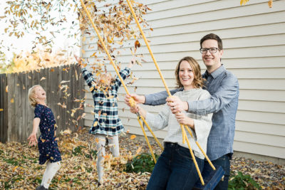 Fall Photography Tips | Hummel Family | Hints & Tips | In-Home | From the Hip Photo