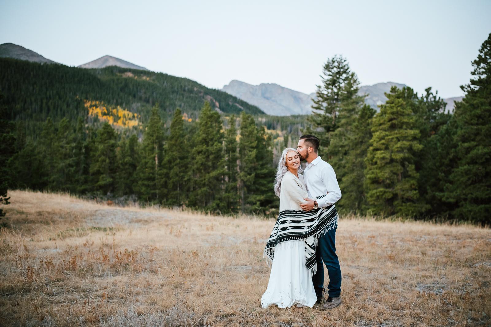 A Sprague Lake Engagement Shoot | Ashleigh & Tim