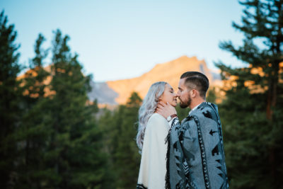 A Sprague Lake Engagement Shoot | Ashleigh & Tim