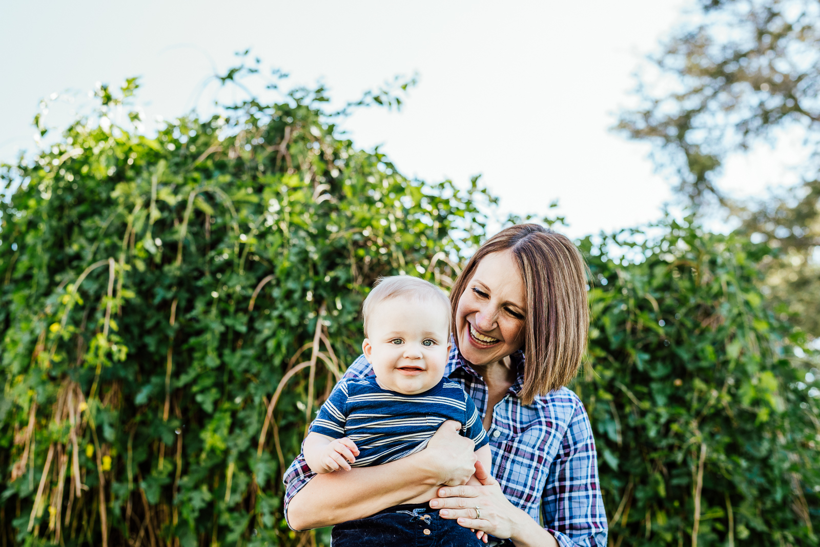 City Park Adventures with Logan | Sara & Jenna Newborn Photos