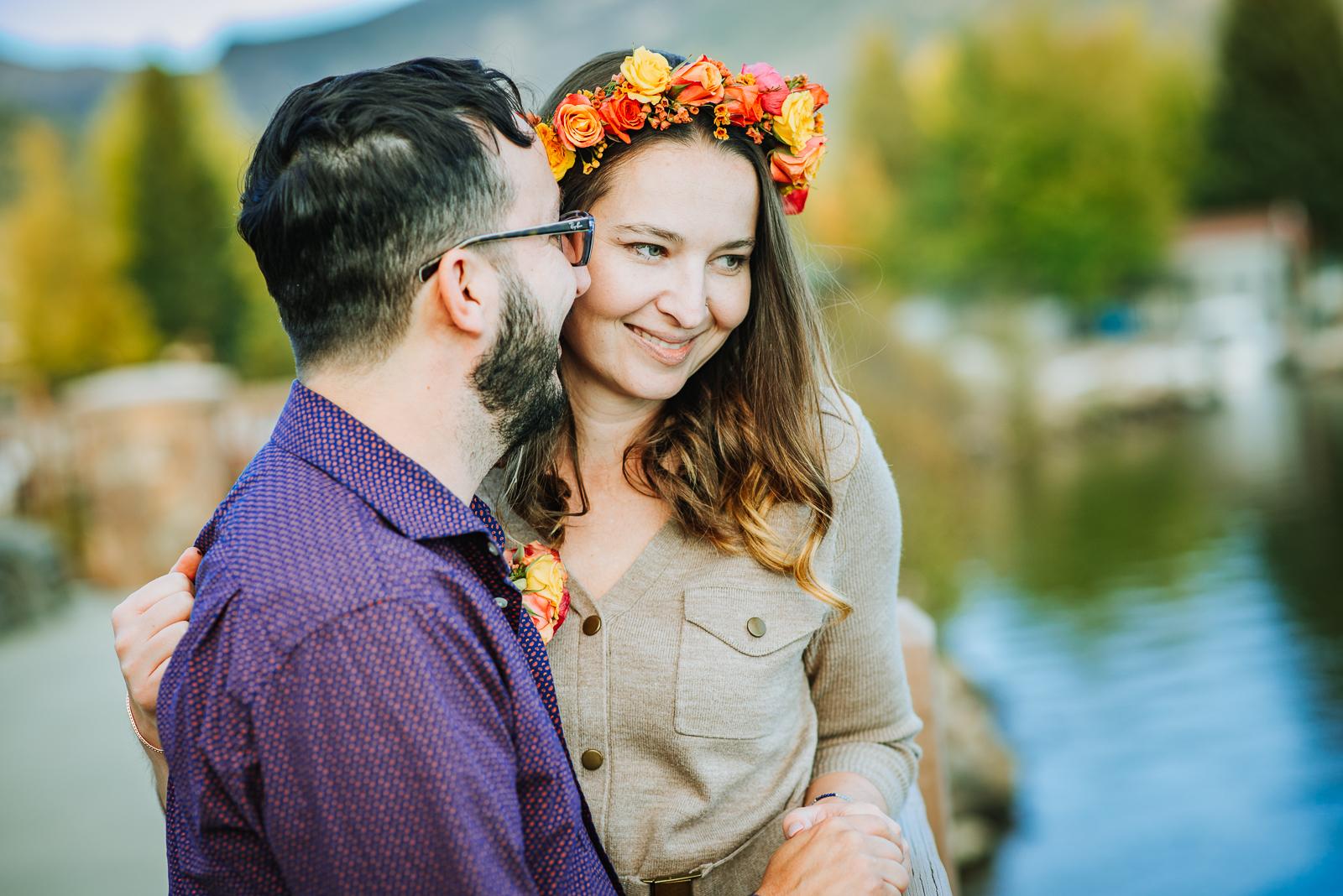 An Autumn Surprise | Katie & Scott Surprise Autumn Engagement