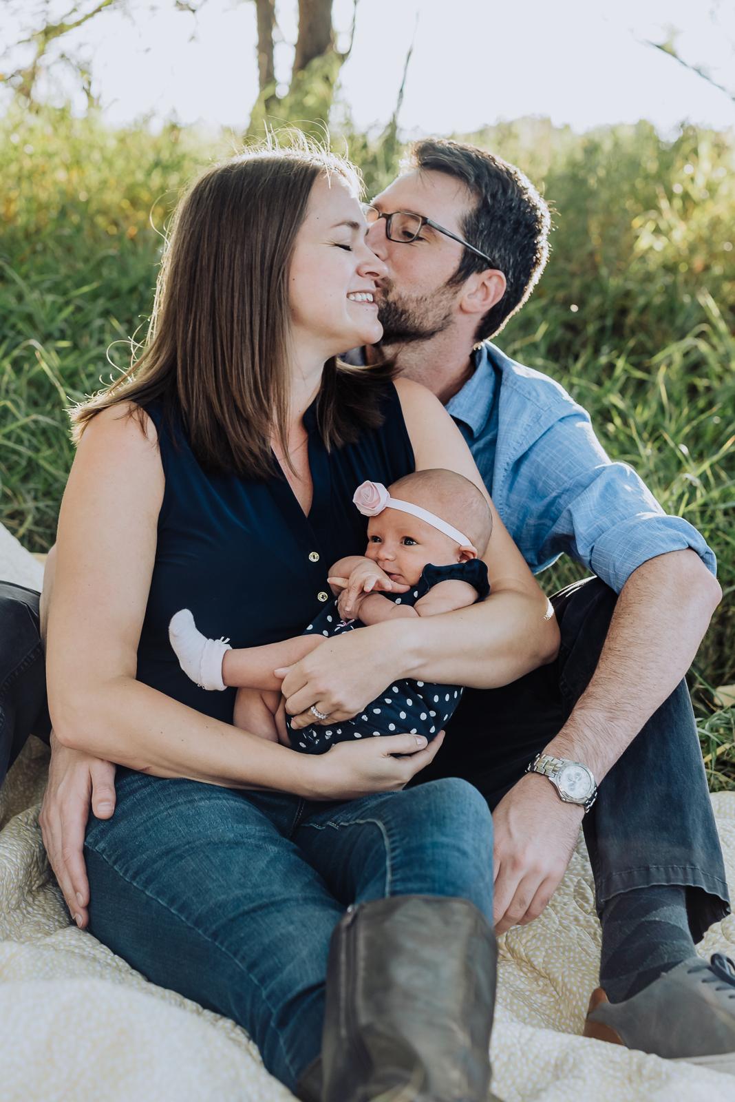 Anna & Brad's Lovely Afternoon | Bear Creek Greenbelt Newborn Photos