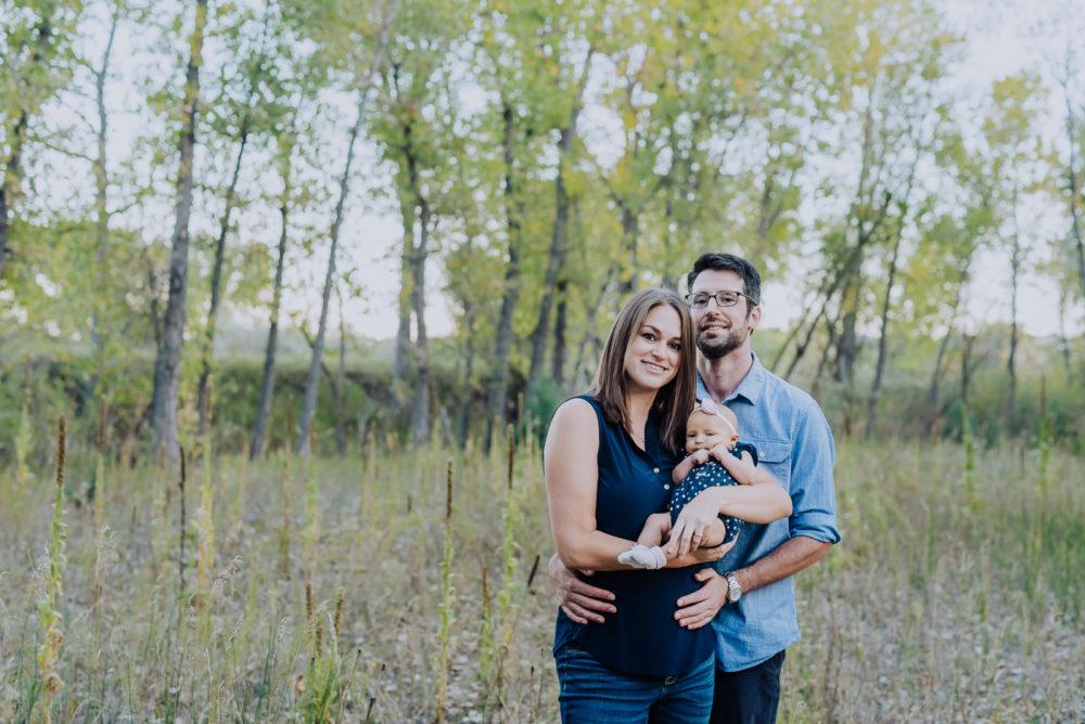 Anna & Brad's Lovely Afternoon   Bear Creek Greenbelt Newborn Photos