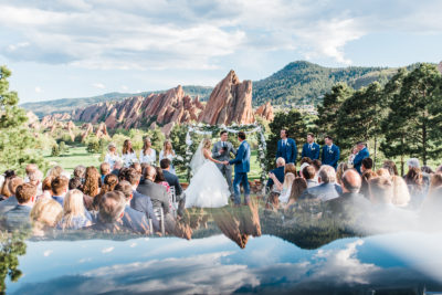 Prism Romantic Ceremony | Arrowhead Golf Course Wedding