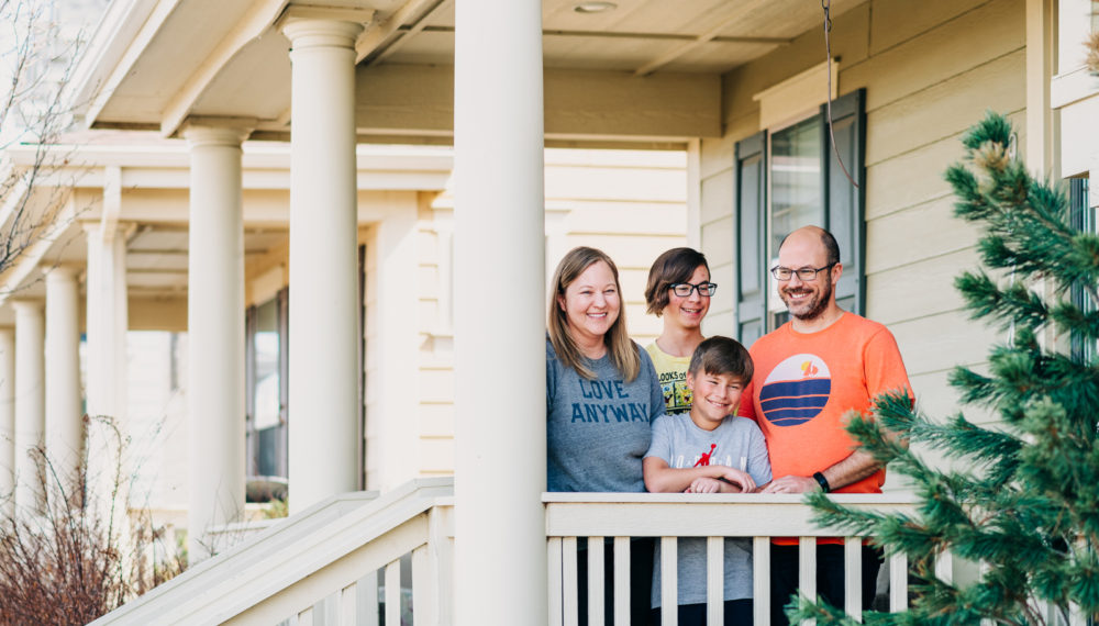 Front Porch Sessions by candid Denver Family Photographers