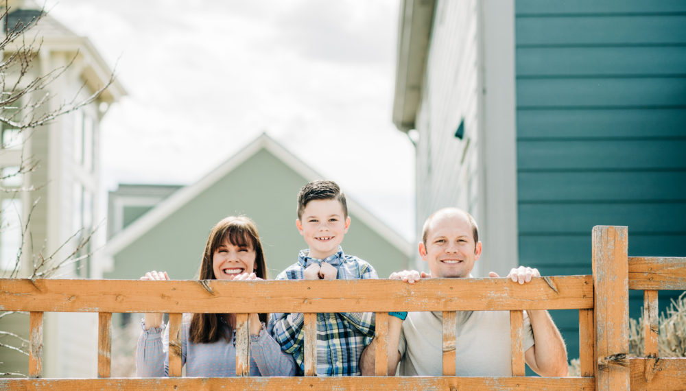 Front Porch Sessions by fun Denver Family Photographers