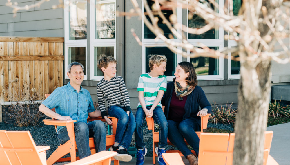 Front Porch Sessions by five star Denver Family Photographers