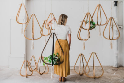 Achillea Designs Denver Branding Business Plant Hangers Photo | Colorado Product Photography