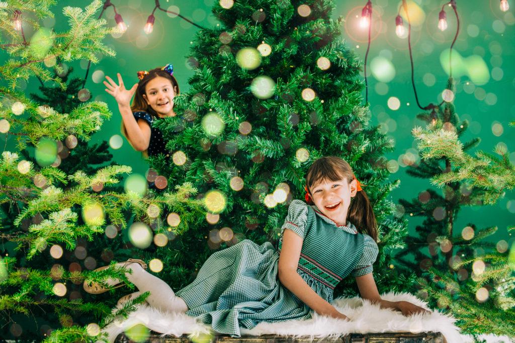 Christmas Studio Holiday Photos   Denver Colorado Family Photographers