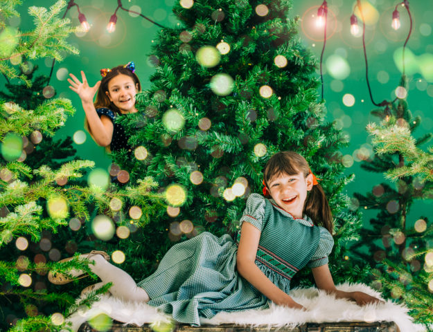 Christmas Studio Holiday Photos | Denver Colorado Family Photographers