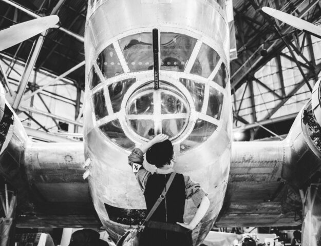 Wings Over the Rockies indoor museum candid historical family and styled sessions | From the Hip Photo portrait photography