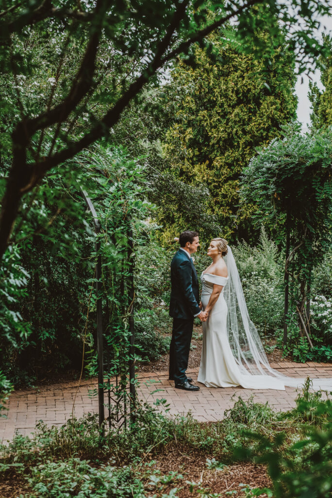 Denver Botanic Gardens Outdoor nature fun candid romantic wedding picture | From the Hip Photo Portrait Photography