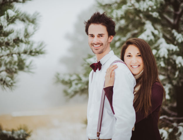 Garden of the Gods outdoor park trail nature mountain fun candid romantic engagement picture | From the Hip Photo Denver Colorado portrait photography