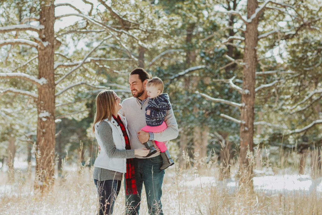 Lookout Mountain Golden Colorado outdoor mountain nature candid fun family picture | From the Photo Denver portrait photography