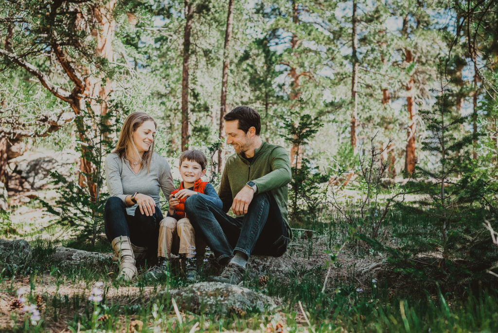 Alderfer/Three Sisters Park outdoor nature trail barn candid fun loving family picture | From the Hip Photo Denver Colorado portrait photography