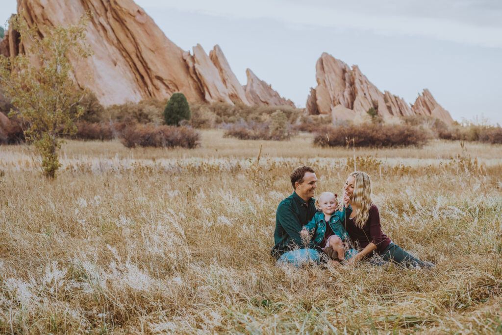 Roxborough State Park Littleton Colorado outdoor nature red rock adventurous candid fun family picture | From the Hip Photo Denver portrait photography