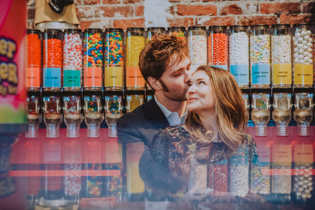 Couples engagement photos at your favorite place | From the Hip Photo Denver Colorado wedding photography