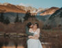Vail Colorado outdoor mountain ski resort nature fun adventurous candid wedding picture | From the Hip Photo Denver portrait photography