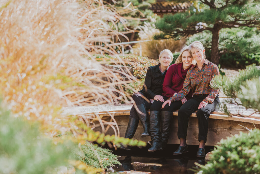 Denver Botanic Gardens Outdoor nature fun candid family picture | From the Hip Photo Portrait Photography