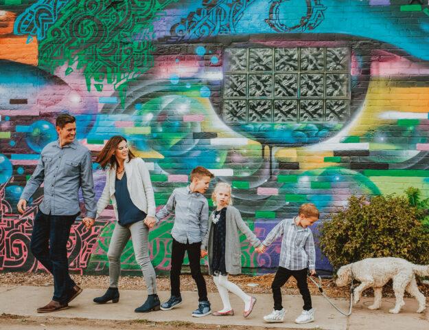 Family Photos Colorado | RiNo Denver Urban Photography