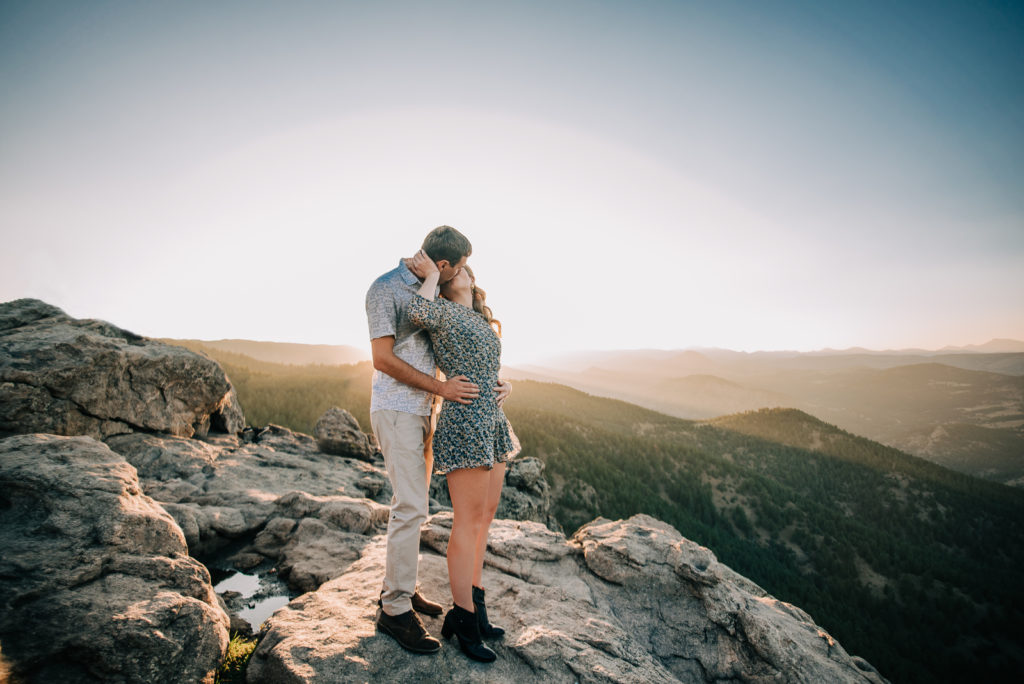 The Expert Guide for Planning Boulder Engagement Photo Sessions Lost Gulch Overlook Romantic Outdoor Picture   From the Hip Photo Denver Colorado Portrait Photography