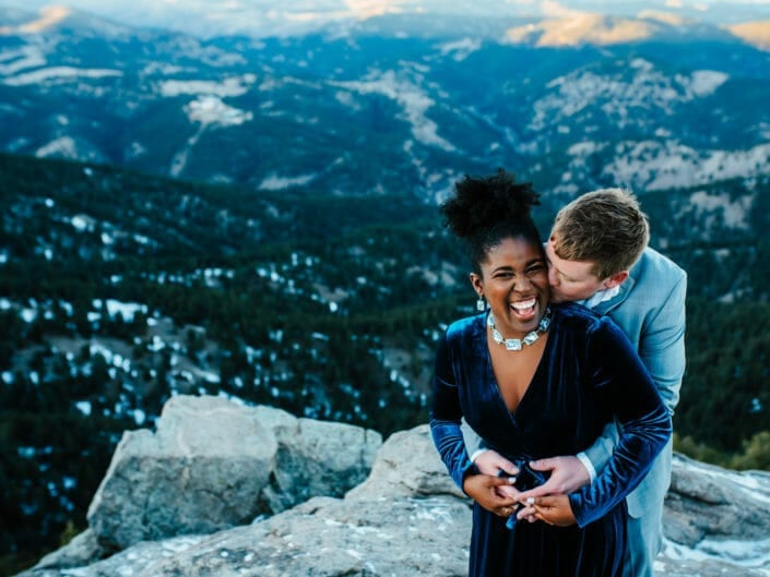 Colorado Engagement Photography - Lost Gulch Overlook | From the Hip Photo