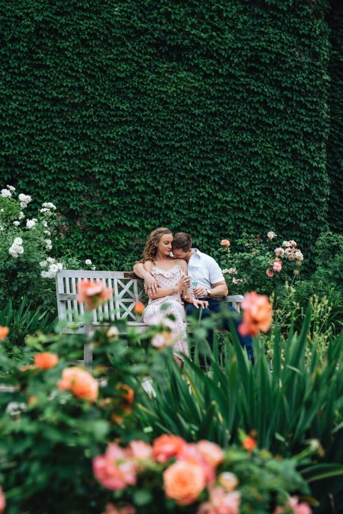 Denver Botanic Gardens weddings | Romantic Garden Engagement Session | From the Hip Photo