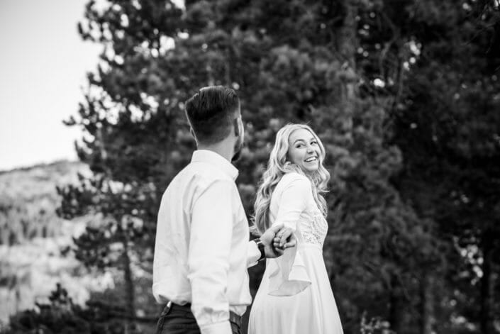 Adventure Engagement Session Photography | From the Hip Photo