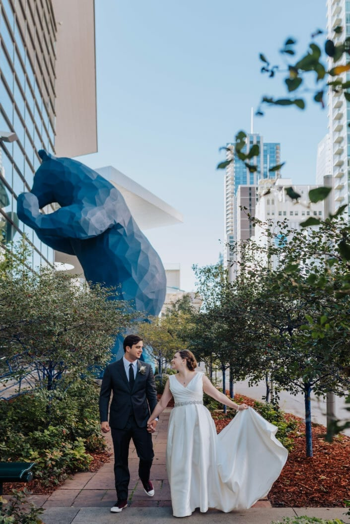 Downtown Denver Wedding Photography | From the Hip Photo