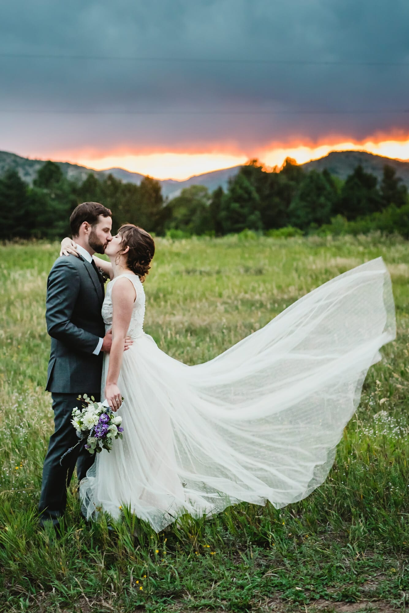 Denver Botanic Gardens at Chatfield wedding photography | From the Hip Photo