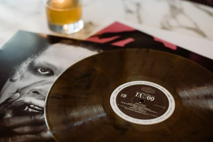 Social Media Vinyl LP Record Label Product Photography | From the Hip Photo