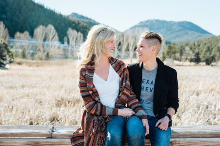 Candid Colorado LGBTQ engagement photography | From the Hip Photo