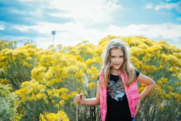 Garden Family Photos | Boulder Colorado | From the Hip Photo