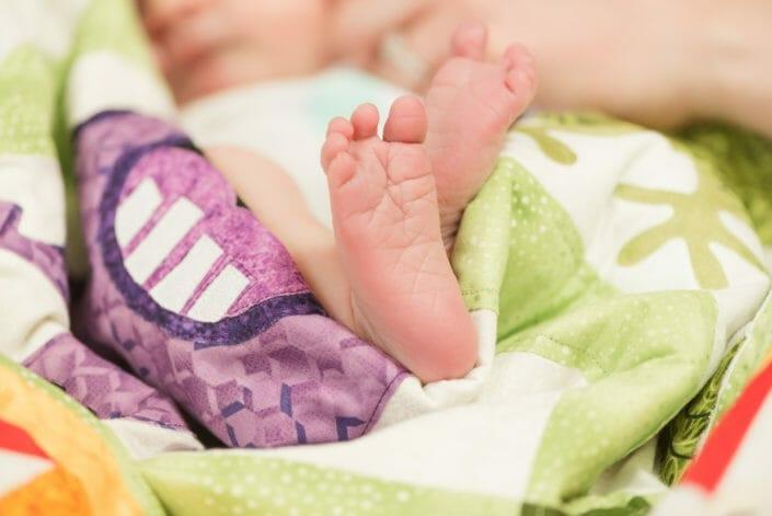 Colorado newborn baby photograph