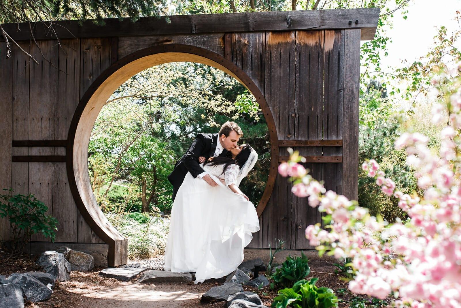 Denver Botanic Gardens weddings | DBG York Street wedding photography