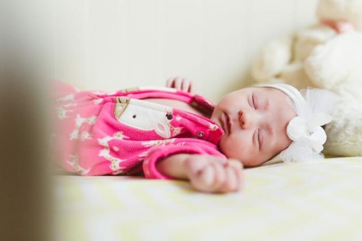 Denver newborn girl photography