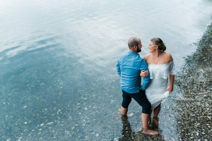 Colorado Lake Elopement Photography