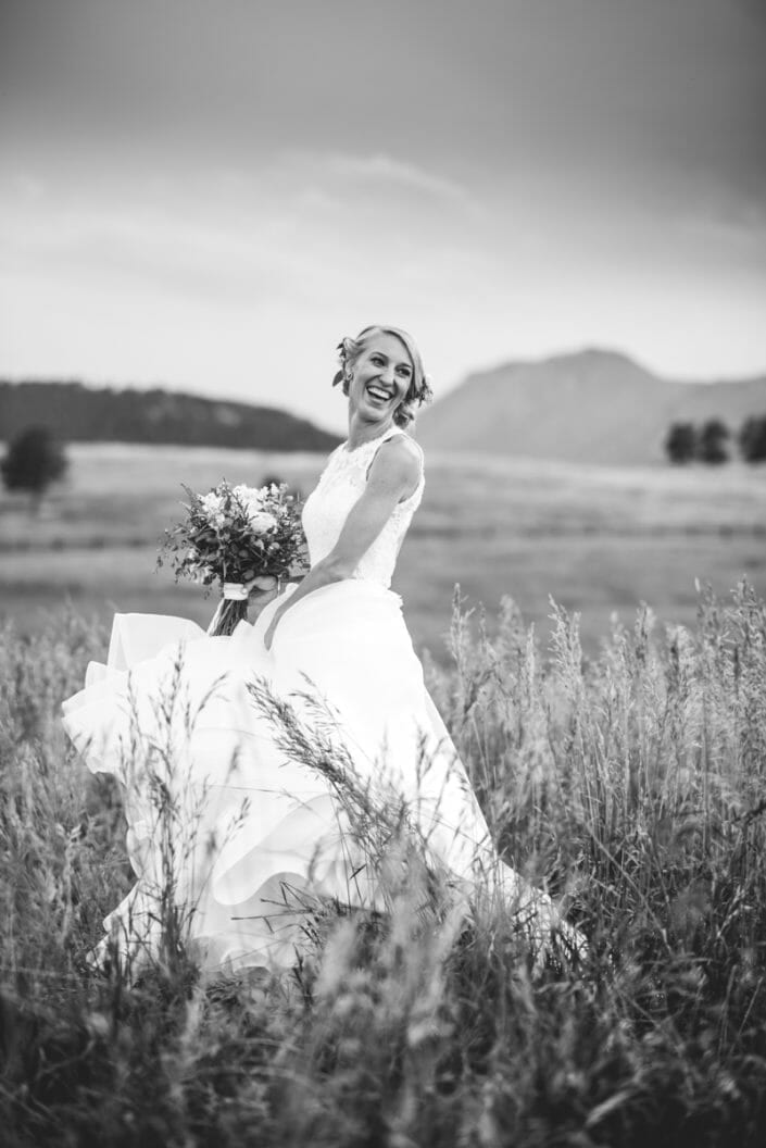 Granby Ranch Elopement Bridal Portrait