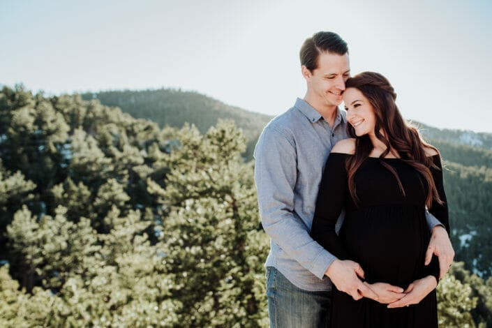 Colorado Nature Maternity Photography Ideas   From the Hip Photo