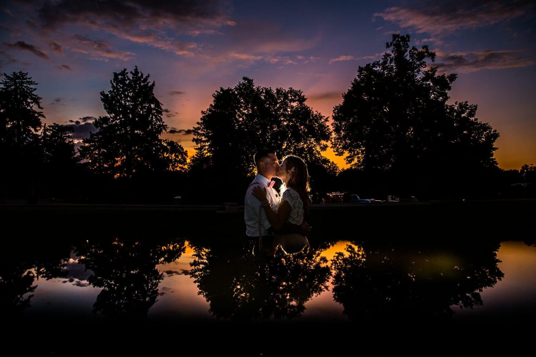 Beautifully Lit Colorado Sunset Engagement Photographer: Danielle Lirette | Lead Photographer | From the Hip Photo | Denver Colorado