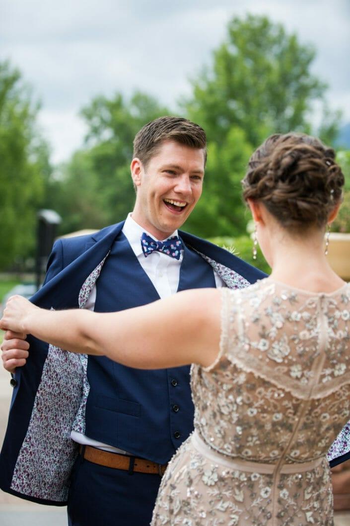 Denver Colorado First Look Wedding Photography: Danielle Lirette | Lead Photographer | From the Hip Photo | Denver Colorado